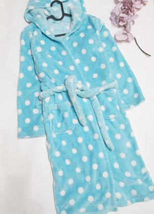 Мягенький плюшевий халат