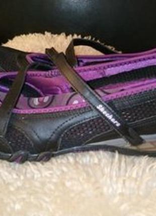 Skechers туфли мокасіни кожа