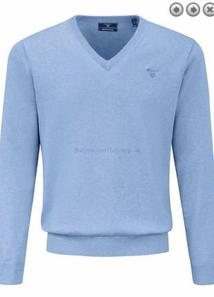 Пуловер мужской стильный модный дорогой бренд gant размер м