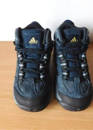 Ботинки adidas 22 р. стелька 14 см замша