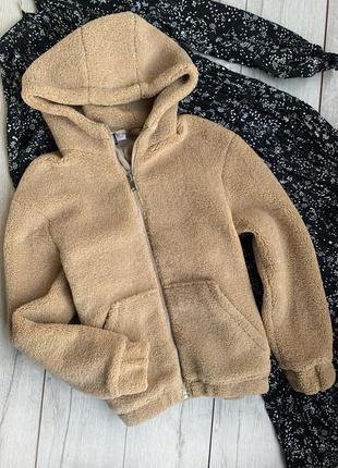 Куртка барашек h&m