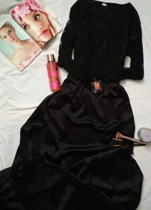 Плаття вечірнє сукня з розрізом