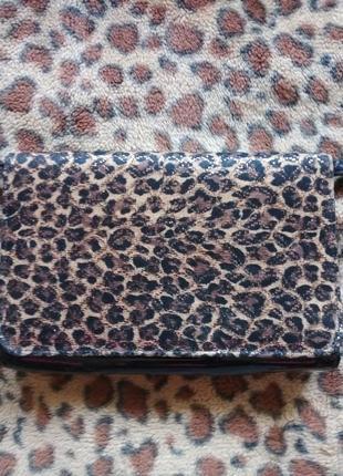 Шикарная маленькая сумочка под леопард  lotus