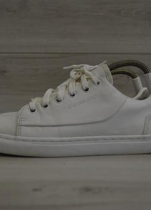 Мужские кожаные кроссовки фирмы g-star raw