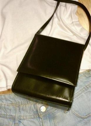 Фирменная кожаная сумка под кожу рептилии dona v(portugal),сумочка кросс-боди
