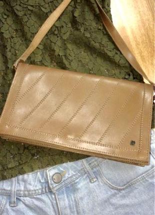 Яркая кожаная сумка leather fashion (italy),яркая сумочка кросс-боди
