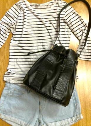 Фирменная сумка-шоппер mint&berry(germany),большая сумка,сумочка