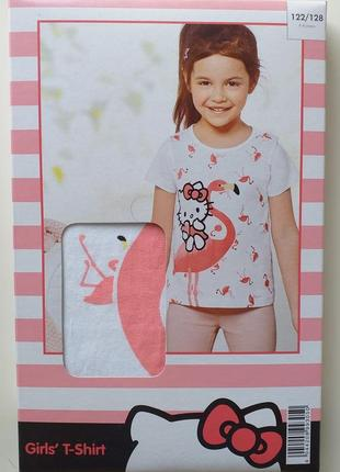 Хлопковая футболка для девочки