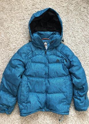 Мужская горнолыжная - зимняя куртка, пуховик nike acg m - размер