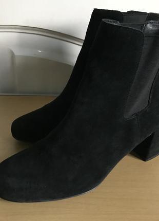 Стильные замшевые ботинки an other a