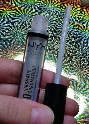Дуохромный блеск для губ nyx