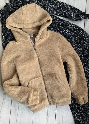 Шуба, куртка барашек h&m