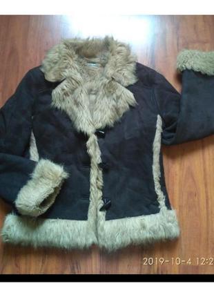 Куртка-дубленка, искусственная