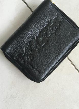 Кожаный кошелёк luciano carvari