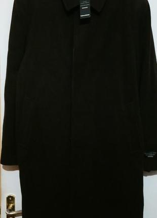 Шерстяное фабричное пальто. италия 🇮🇹