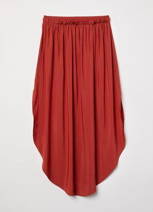 Замечательная сатиновая юбка