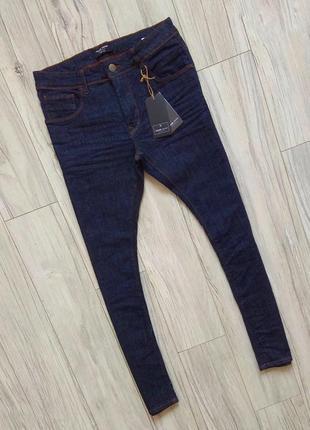 Новые с бирками мужские брендовые новые с бирками мужские брендовые джинсы 30/34slim fit