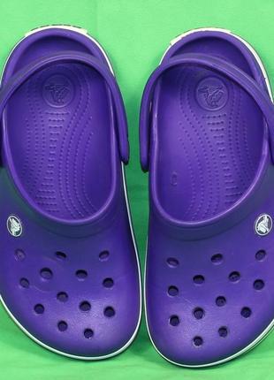 Кроксы crocs оригинал размер 33-34