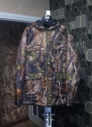 Куртка для охоты realtree камуфляжная лес