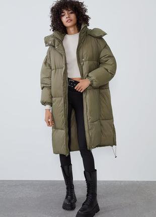 Куртка пуховик zara new collection