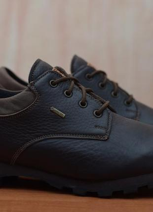 Кожаные треккинговые, туристические кроссовки, ботинки zamberlan gore-tex. 45 размер