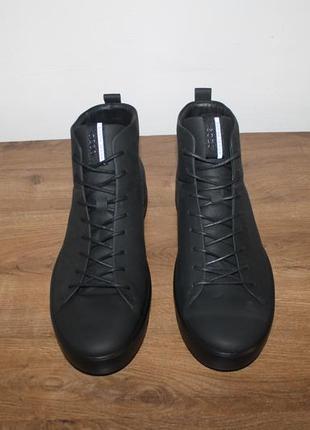 Кожаные ботинки ecco soft 8