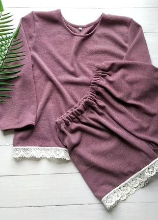 Женская пижама из ангоры