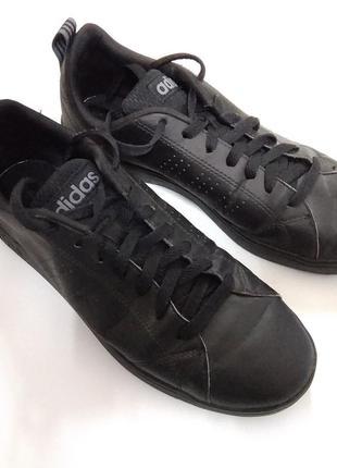 Adidas кроссовки, чёрные