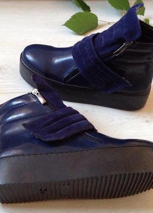 Стильные ботинки демисезон (утеплённые)