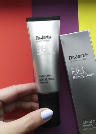 Премиум бб-крем dr. jart+ rejuvenating silver label plus bb cream spf35/pa++ 40 мл