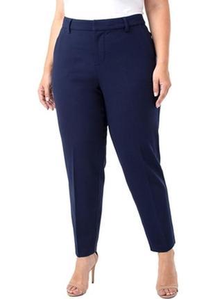 Котоновые синие брюки р.52-54