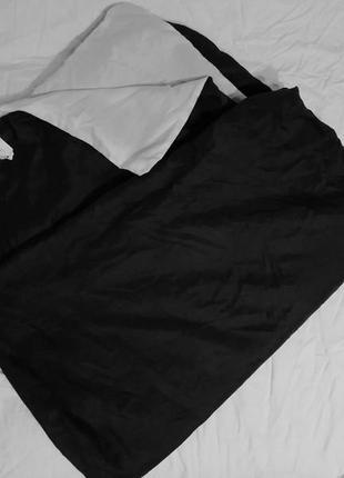 Пододеяльник черно/белый , полиэстр, 130х200см