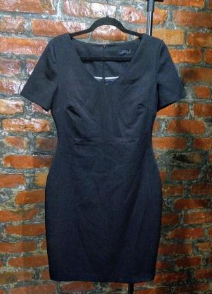 Стильное платье чехол футляр по фигуре из костюмной ткани papaya