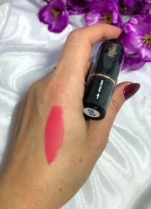 Матовая помада для губ topface matte lipstick №12