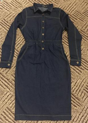 Джинсовое платье cardo