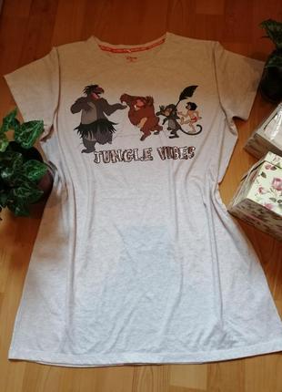 Ночная сорочка disney, хлопок, размер 18-20