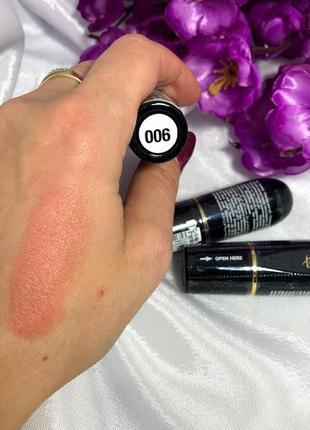 Матовая помада для губ topface matte lipstick №6