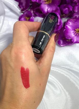 Матовая помада для губ topface matte lipstick №20
