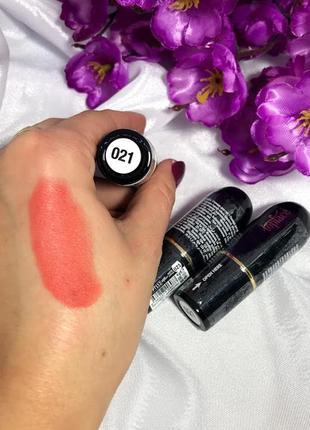 Матовая помада для губ topface matte lipstick №21