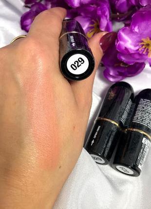 Матовая помада для губ topface matte lipstick №29