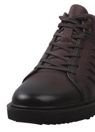 Ботинки на меху  antoni bianchi натуральная кожа, зима 2020