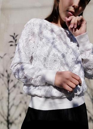 Свитшот кофта пуловер джемпер h&m