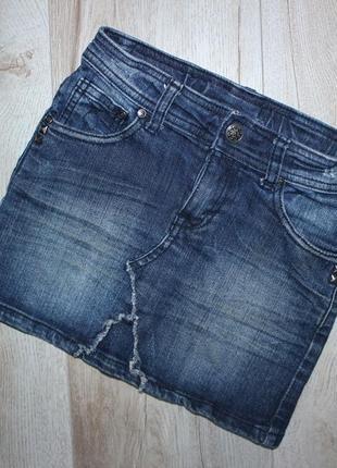 Юбка джинсовая campus kids 6 лет, рост 116 см.