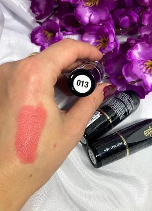 Матовая помада для губ topface matte lipstick №13