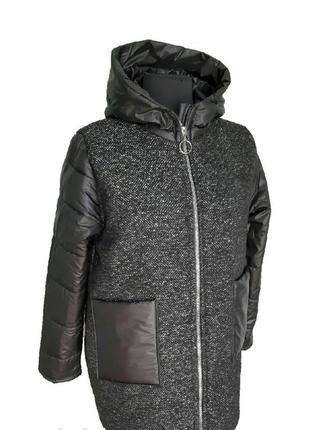 Зимнее пальто батал