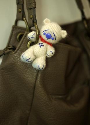 Брелок для сумки мишка