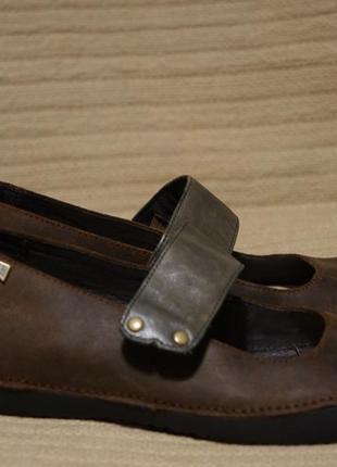 Великолепные комбинированные кожаные туфли camper испания 40 р.