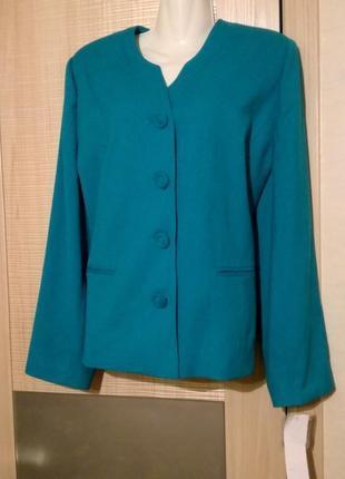 Роскошный брендовый пиджак жакет charles gray london.большой размер