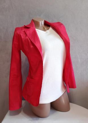 Рожевий піджачок жакет маленький розмір/розовый блейзер