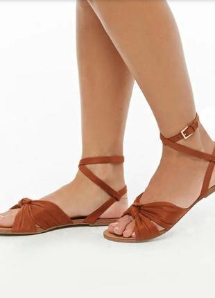 Босоножки сандалии forever 21